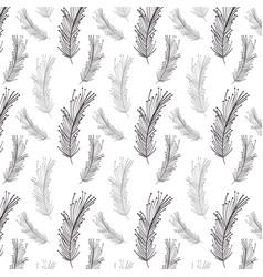 feather decoration background design image vector image