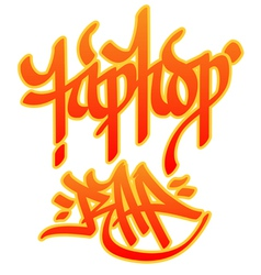 Hiphop rap vector
