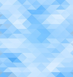 Mosaic triagle background vector image vector image