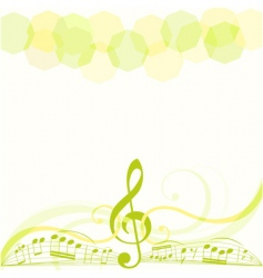 music copy space vector image