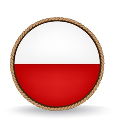 Poland seal vector