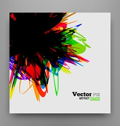 Chaotic Background Design vector image