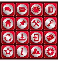 Icon set 1 vector