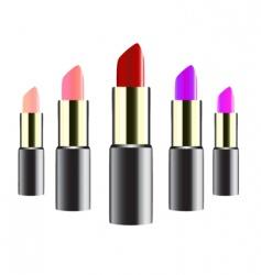 lipstick design vector image