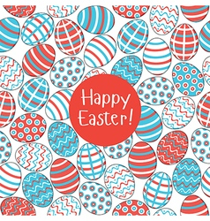 Seamless pattern easter vector