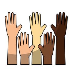 Afro diversity symbol vector