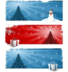 Christmas greeting card design background vector