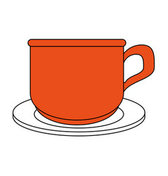 Coffe cup cartoon vector