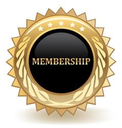 Membership vector image vector image