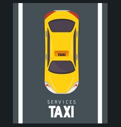 Taxi cab design vector