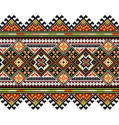 Ucrainian national ornament vector image vector image