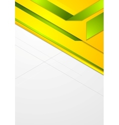 Bright corporate geometric background vector