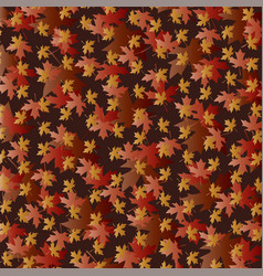 overlapping gradient leaf pattern vector image vector image