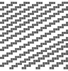 Seamless geometric pattern for design vector image