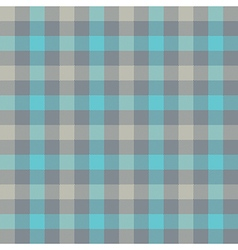 Blue gray check tablecloth seamless pattern vector