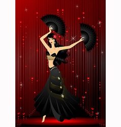 Dancer vector image vector image