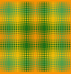 Glowing dot pattern seamless background in vector