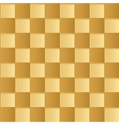Yellow square abstract background vector