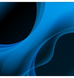 Blue plasma background vector