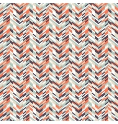 Abstract techno chevron pattern vector image