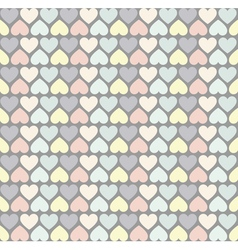 Hipster hearts pattern2 vector