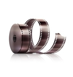 Cinematography movie video vector image