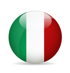 Flag of italy vector