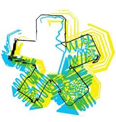 Sketch Symbol vector image vector image