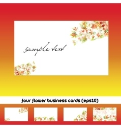 Business cards vector