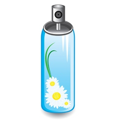Air freshener spray vector