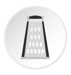 Grater icon flat style vector