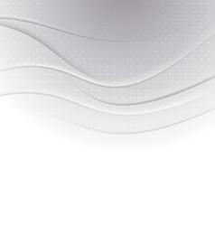 Halftone swoosh line abstract modern backdrop vector image vector image