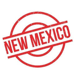 New Mexico rubber stamp vector image