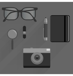 Pack for business journalist and web themes vector