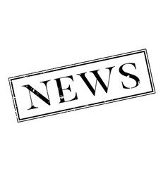 news rubber stamp vector image