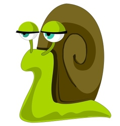 Phlegmatic snail vector