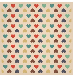 Hipster hearts pattern123 vector