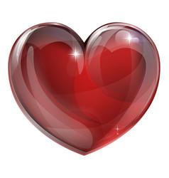 heart graphic vector image vector image