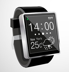 Smart watch vector image