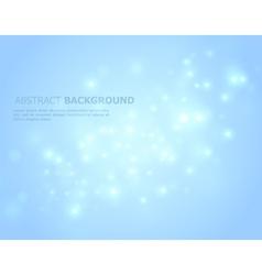 glowing back vector image