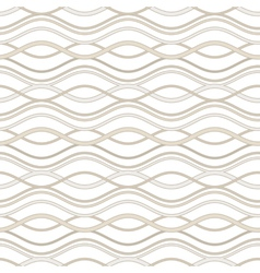 Abstract wavy pattern vector image vector image