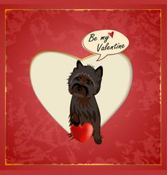 Cairn valentine vector