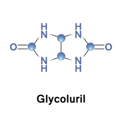 Glycoluril is an organic chemical vector