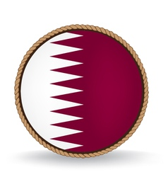 Qatar seal vector