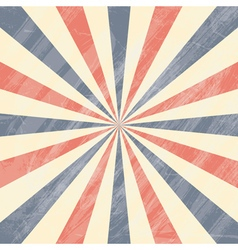 Colorful circus sunburst background vector