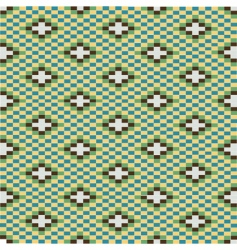 decorative texture with green motifs vector image