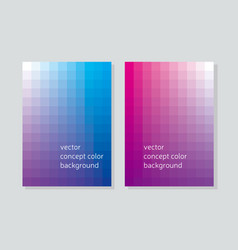 Abstract concept geometry booklet cover with vector