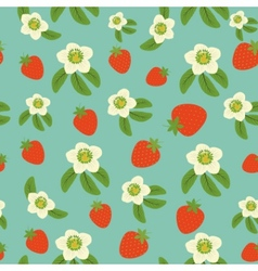 Background from strawberry vector