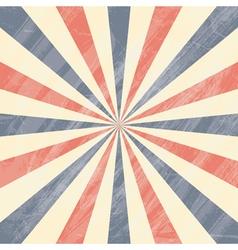 Colorful circus sunburst background vector