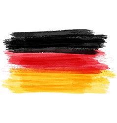 grunge flag of germany vector image
